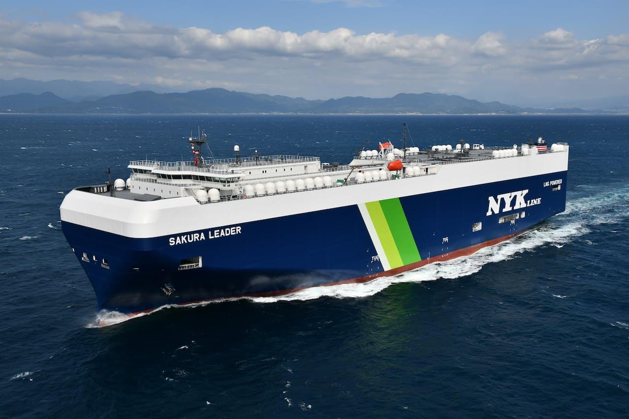 日本郵船は船舶燃料の脱炭素化も進める