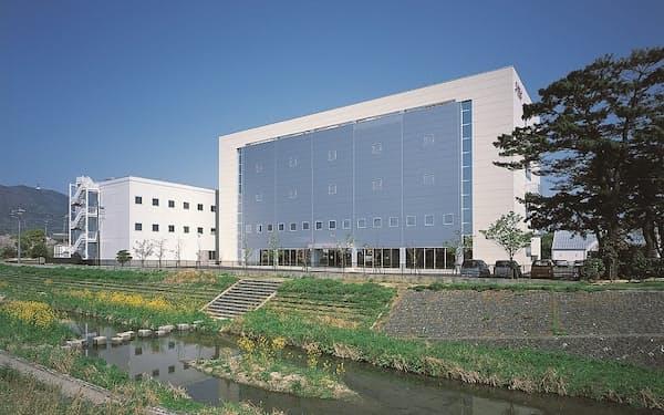 愛知県蒲郡市にあるJ-TECの本社。細胞の培養用設備も有している