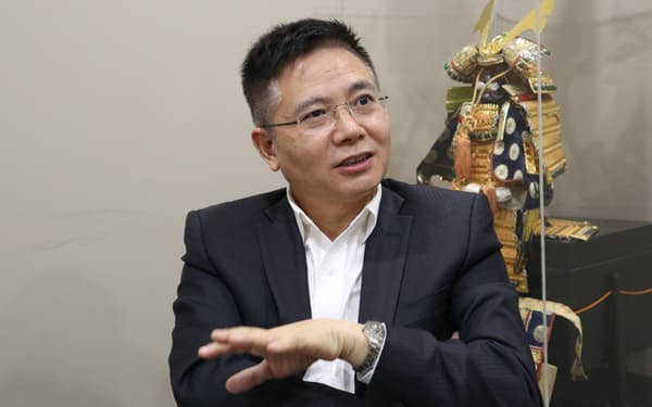 香港の新党・紫荊党主席の李山氏