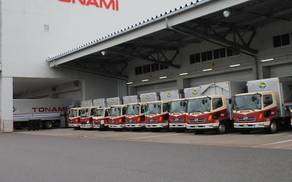 荷動きは「回復基調にある」という(富山市内の拠点)