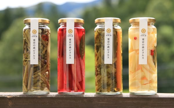 「四季の家」が作った「東京の森ピクルス」