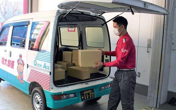 丸和運輸機関は首都圏でアマゾンの荷物を宅配する。個人事業主も参加する幅広い協業網がベースにある