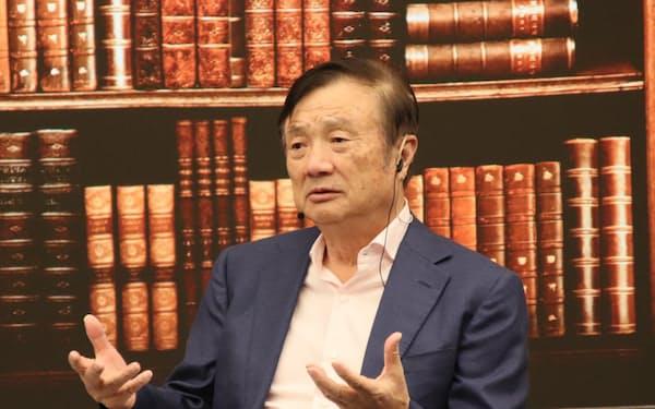 ファーウェイの任正非CEO(2019年9月、広東省深圳市)