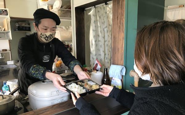 「やまわけキッチン」では高齢者のほか在宅勤務者などの利用も増えている