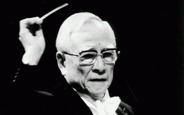 あさひな・たかし(1908~2001) 京大法学部卒。ヴァイオリン奏者から指揮者に。阪急勤務後、大陸の上海、ハルビンで指揮、47年に現在の大阪フィルを設立、終身の音楽監督だった。