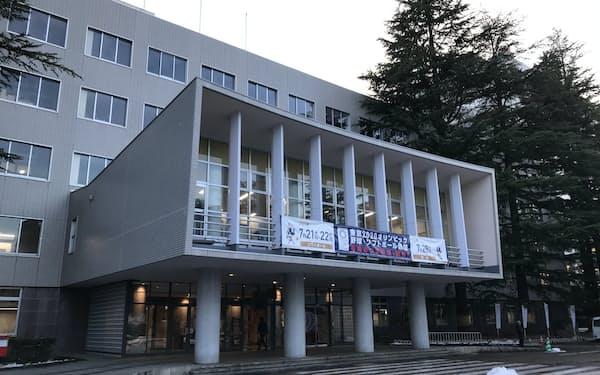 福島県は新型コロナの緊急対策期間を14日で終える(県庁)