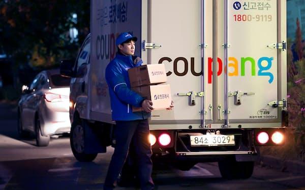 韓国のネット通販最大手クーパンは自前で物流・配送を手掛ける