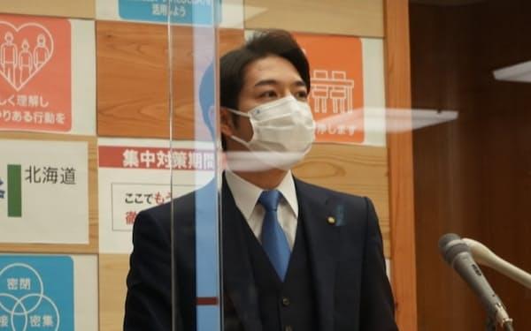 鈴木直道知事は飲食業界への新たな支援検討を表明した