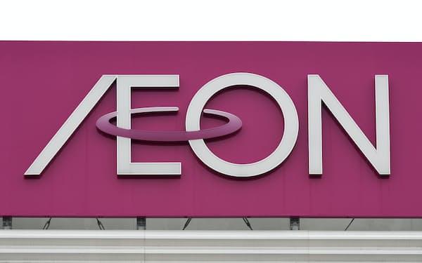 イオンは13日夜の福島県沖の地震で店舗に損傷が出た(写真は神奈川県内の店舗)