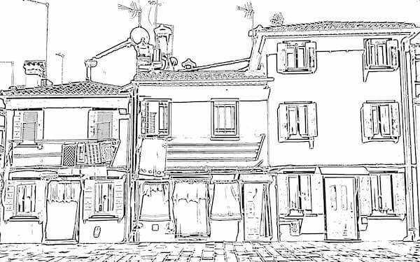 ラディウス・ファイブのラインドロワーは1分ほどで1枚の写真から6種類の線画を生成する