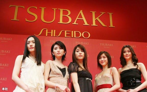 「TSUBAKI」の宣伝には多くの女優を起用した