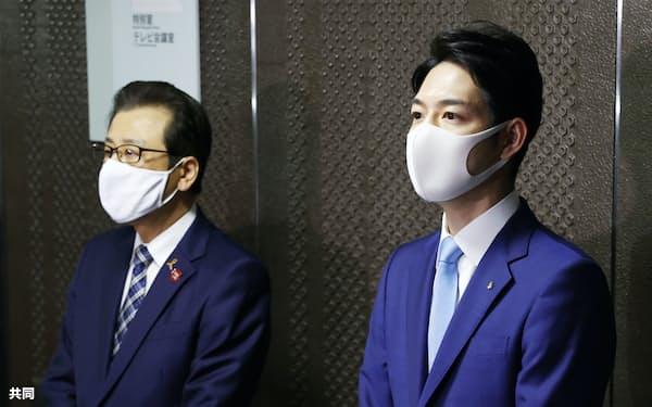 時短要請対象の拡大は鈴木・北海道知事㊨と秋元・札幌市長の妥協の産物でもある