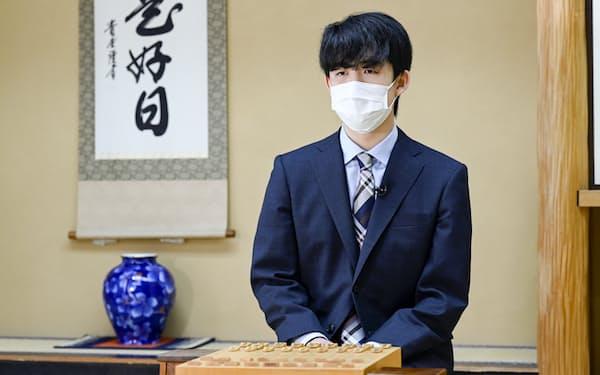 藤井聡太 将棋棋士、二冠(王位・棋聖)