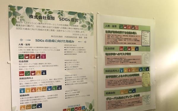 名古屋銀の支援で桑原が作成したSDGs宣言書