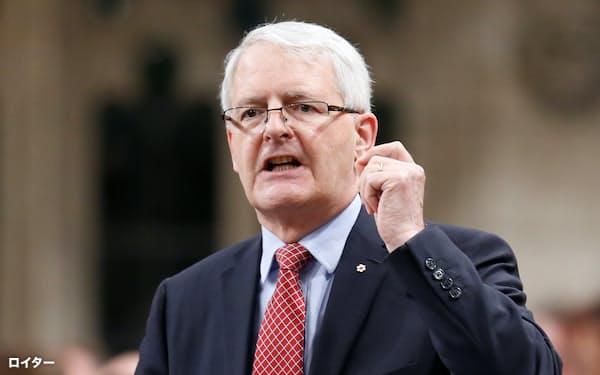 カナダのガルノー外相は声明で「恣意的な拘束に終止符を打つため、国際的な機運を構築する」と強調した=ロイター