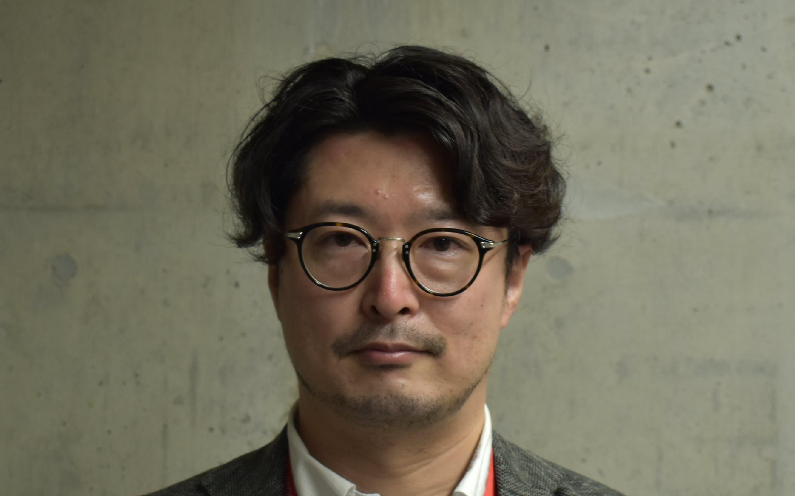 東北芸術工科大学就職部長の粟野武文氏