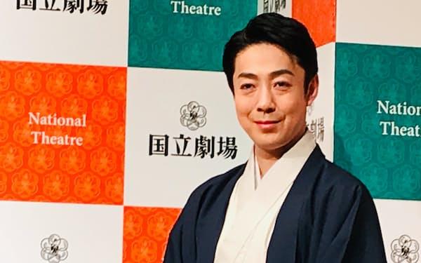 2021年3月の国立劇場公演で光秀の役に挑む尾上菊之助