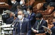 菅首相は国民への発信力強化に力を入れている(17日、衆院予算委員会)