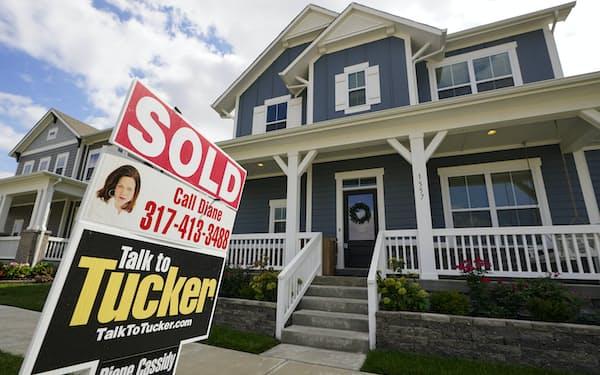 低金利を追い風に住宅販売が増加=AP