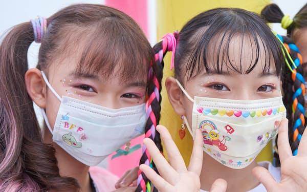 セガトイズが発売する転写シールを使ったマスク