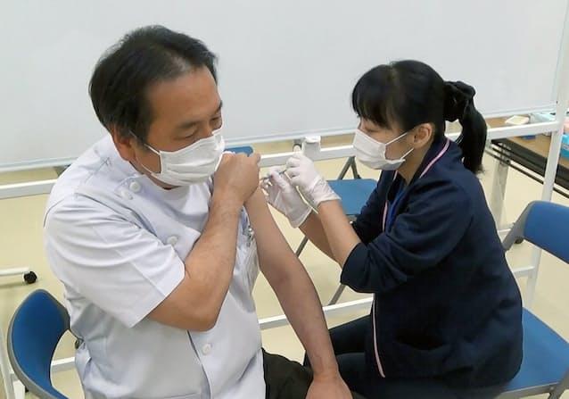ワクチン 医療 従事 者