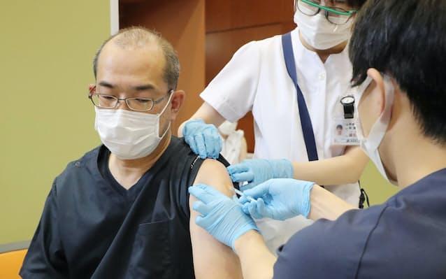 ワクチン 者 コロナ 医療 従事