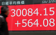 株3万円、日本市場に変化 株主への利益配分大きく
