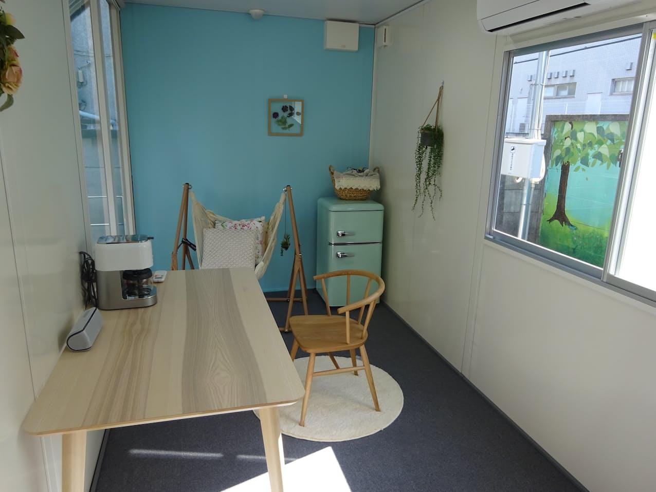 オフィスや趣味空間としての活用を見込む
