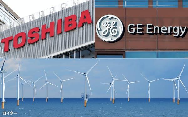 東芝とGEが洋上風力発電の基幹設備を共同生産することで提携交渉を進めていることが明らかになった