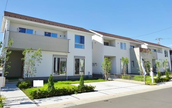 郊外で個室や庭付き一戸建ての需要が伸びている(ケイアイスター不動産の物件)
