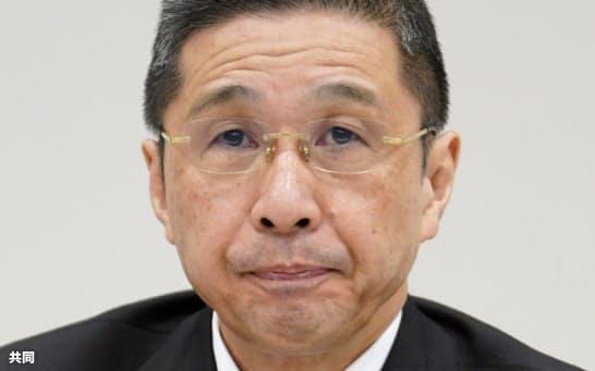 日産自動車の西川広人前社長=共同