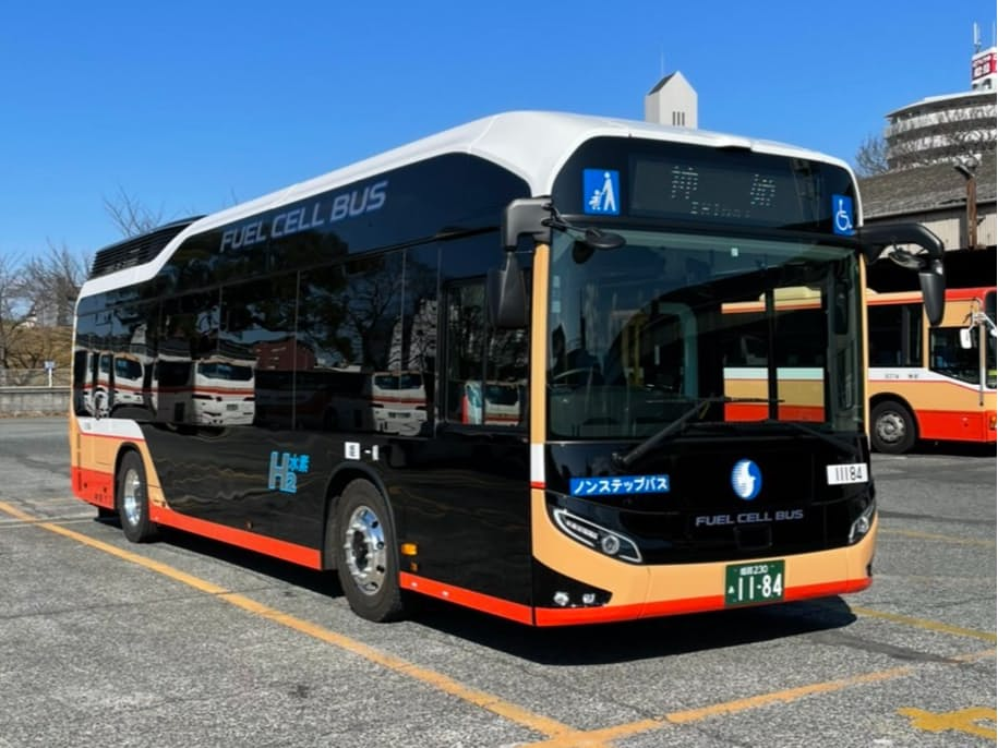 神姫バスが導入する燃料電池バス