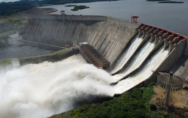 中国で相次いで水力発電所の設備を受注している(水力発電所のイメージ)