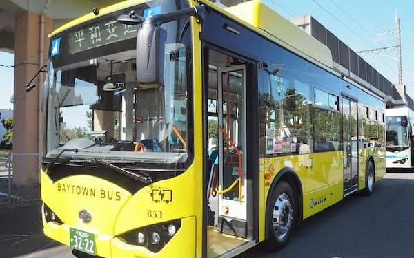 EVは通常のバスに比べて、揺れや騒音も抑えられる