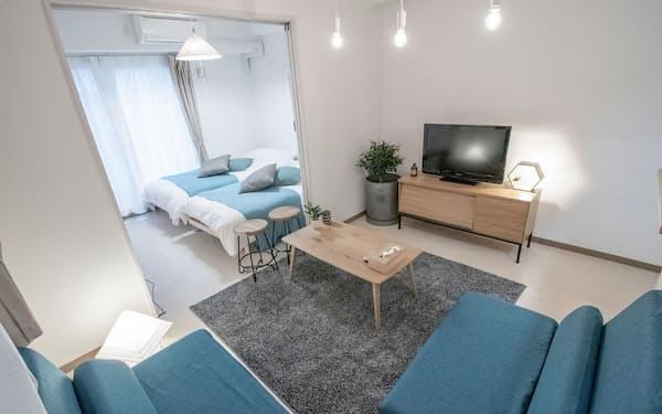 マッシブサッポロの民泊は撮影会やパーティー会場としての活用も増えている