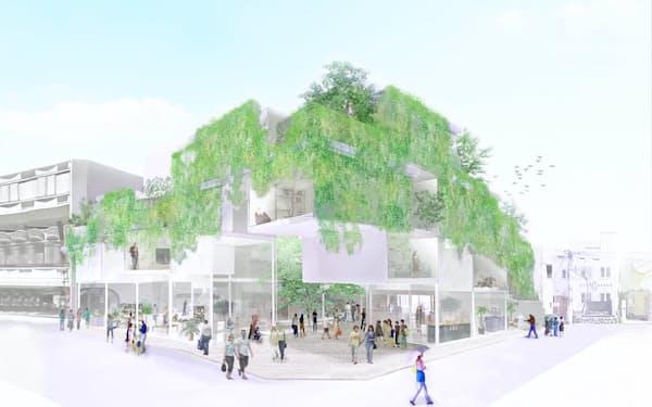建築家の平田晃久氏が設計を担当する(写真はイメージ)