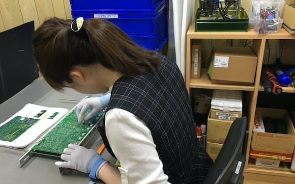 製作の現場でも女性が活躍する