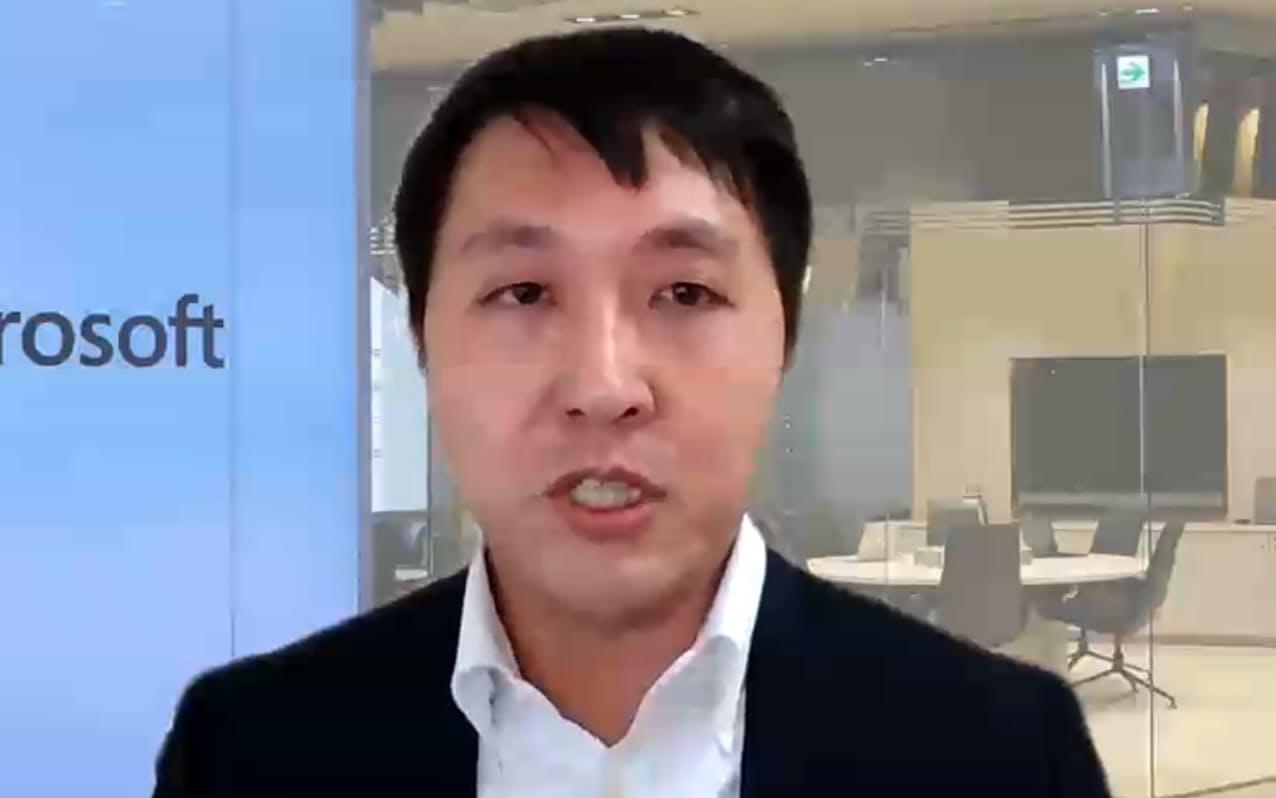 日本マイクロソフトの佐藤壮一Azureビジネス本部プロダクトマーケティング部プロダクトマネージャー