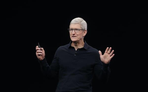 アップルのクックCEOは折にふれ「ウェルビーイング」に言及する =AP