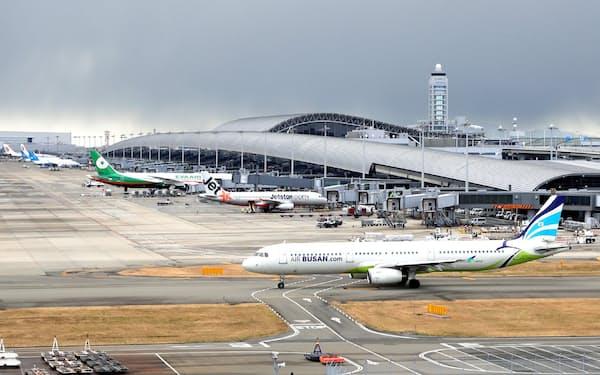 関西国際空港の第1ターミナル