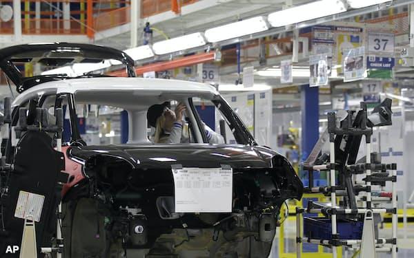 セルビアには自動車産業を中心に海外企業の拠点が集積している=AP