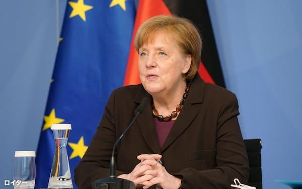 ドイツのメルケル首相=ロイター