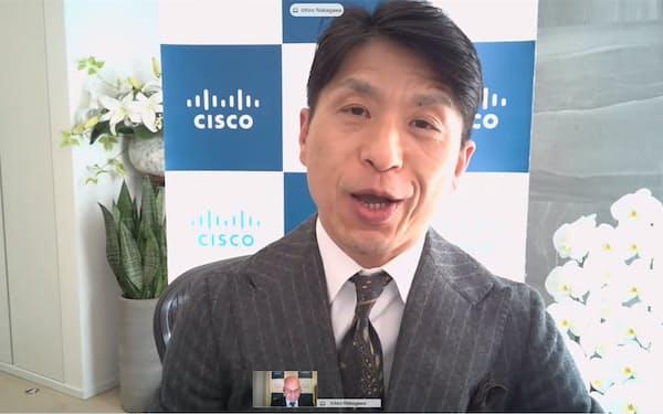 シスコシステムズ日本法人の中川いち朗新社長
