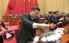 「脱貧困」習氏に忠誠を誓う式典 北京ダイアリー