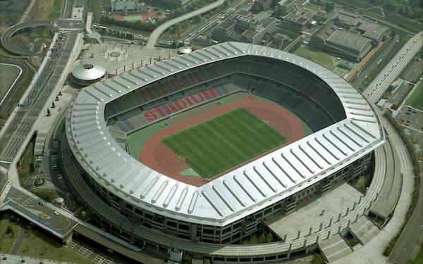 日産スタジアムは19年のラグビーワールドカップ(W杯)でも会場となり、海外での認知度も高い