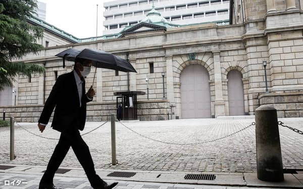 日銀は3月の金融政策決定会合で総点検結果をとりまとめ公表=ロイター