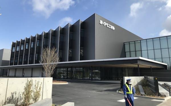 ヨークベニマルの本社は2月に完成し稼働した(福島県郡山市)