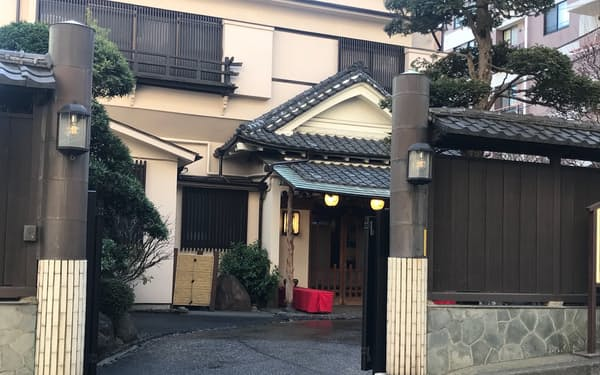 横浜最古の料亭、田中家も新型コロナで売り上げが激減している(横浜市)