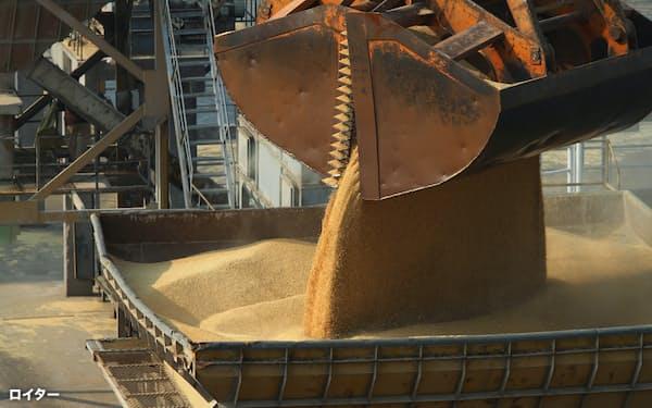 オーストラリアへの不満を募らせた中国は昨年秋以降、同国からの大麦の輸入を禁じている=ロイター