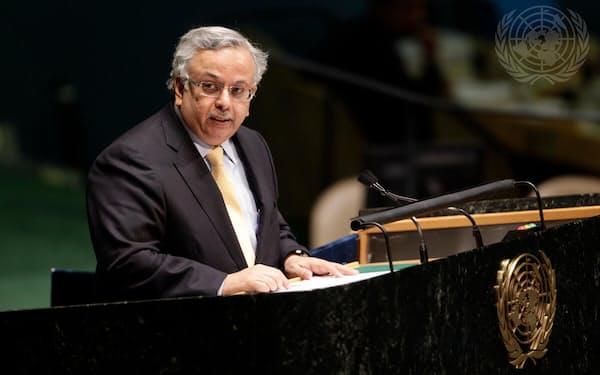 サウジアラビアのムアリミ国連大使=国連提供